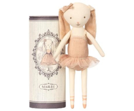 MAILEG |  DANCING BALLERINA | BUNNY IN TUBE