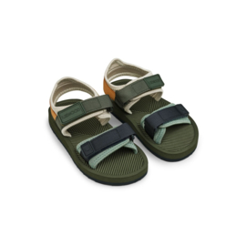 Liewood | Monty Sandals | Hunter Green Mix