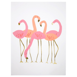 MERI MERI | ART PRINT | FLAMINGO | 2 PACK