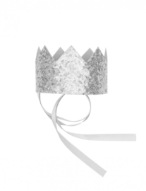 BILLY LOVES AUDREY | SILVER SEQUIN CROWN