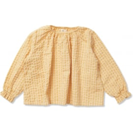 Konges Slojd | Acacia Blouse | Yellow Check