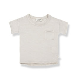 1+ IN THE FAMILY | NANI SHORT SLEEVE T-SHIRT | STONE
