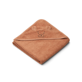 Liewood | Augusta Hooded Towel |Mr Bear Tuscany Rose