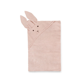 LIEWOOD | WILLIE KNIT BLANKET | RABBIT | ROSE