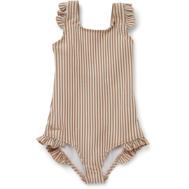 Liewood | Tanna Swimsuit | Stripe Tuscany Rose / Sandy