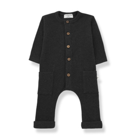1+ In The Family | Milos | Jumpsuit | Charcoal