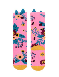 BILLY LOVES AUDREY | GARDEN KNEE HIGH SOCKS | PINK