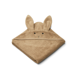 Liewood | Augusta Hooded Towel | Rabbit Oat