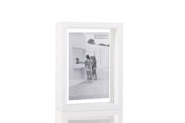XLBOOM | FLOATING BOX | 13 X 18 | WHITE