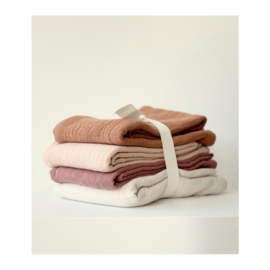 LIEWOOD   LEON MUSLIN CLOTH   4 PACK   ROSE MULTI MIX