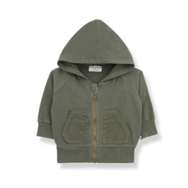 1+ In The Family   Quinn   Hood Jacket   Olive