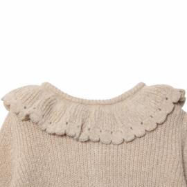 Emile Et Ida | Pullover | Beige Lurex