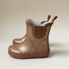 KONGES SLOJD | WELLY | RUBBER BOOTS | GLITTER | TAN