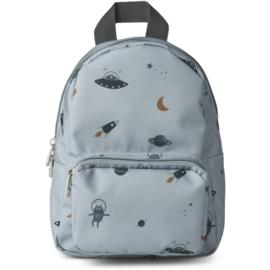 Liewood | Saxo Mini Backpack | Space Blue Fog Mix