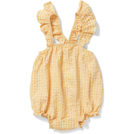 Konges Slojd | Acacia Frill Romber | Yellow Check