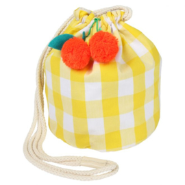 MERI MERI | GINGHAM BAG | CHERRY