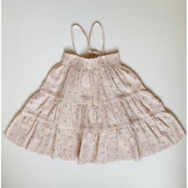 Konges Slojd | Zalie Smock Strap Dress | Mandarin