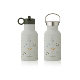 LIEWOOD | ANKER | WATER BOTTLE | PANDA DOVE BLUE MULTI MIX