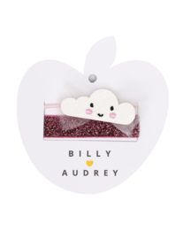 BILLY LOVES AUDREY | CLOUD | ELASTIC HAIR DUO | 2 STUKS