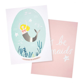 MERI MERI | 2 PACK | ART PRINTS | MERMAID