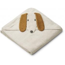 Liewood | Augusta Hooded Junior Towel | Dog Sandy