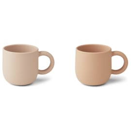 Liewood   Merce Cup   2 Pack   Rose Mix