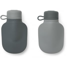 Liewood | Silvia Smoothie Bottle | 2 Pack | Blue Mix