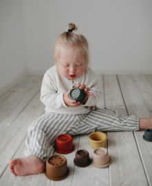 MUSHIE | STACKING CUPS | RETRO