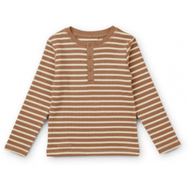 Liewood | Wilhelm Pyjama Set | Stripe Tuscany Rose / Sandy