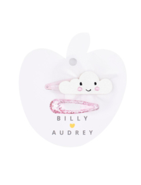 BILLY LOVES AUDREY | CLOUD | DUO HAIR CLIPS | 2 STUKS
