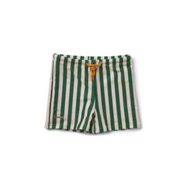 Liewood | Otto Swim Pants | Stripe Garden Green / Sandy
