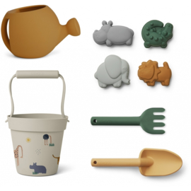 Liewood | Florance beach & garden set | Safari Sandy Multi Mix