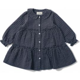 Konges Slojd | Harlow Dress | Blue Fog Check
