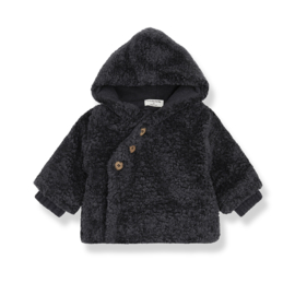 1+ In The Family | Flora | Coat | Charcoal