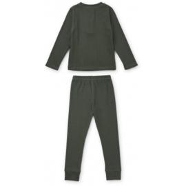 Liewood | Wilhelm Pyjama Set | Hunter Green