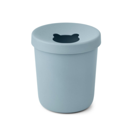 LIEWOOD | EVELINA | TRASH BIN | SEA BLUE