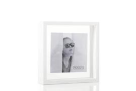 XLBOOM | SQUARE FLOATING BOX | 20 X 20 | WHITE