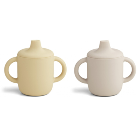 Liewood | Neil Cup | 2 Pack | Sandy Wheat Yellow Mix