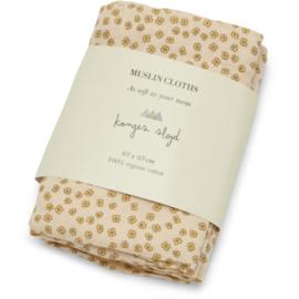 Konges Slojd | 3 Pack | Muslin Cloth | Buttercup Yellow