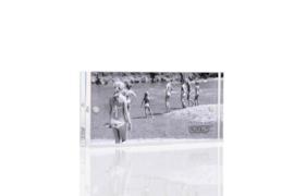 XLBOOM | ACRYLIC MAGNETIC FRAME | 10 X 5 | CLEAR