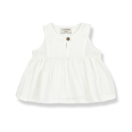 1+ IN THE FAMILY | HILDA SLEEVELESS BLOUSE | OFF WHITE