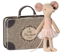 Maileg | Ballerina Mouse | Big Sister in Suitcase