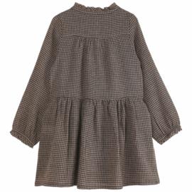 Emile et Ida | Dress | Vichy Chocolat