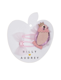 BILLY LOVES AUDREY | BIRD PRINCESS | DUO HAIR CLIPS | 2 STUKS