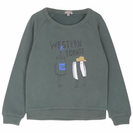 Emile et Ida | Sweat Shirt | Canard Western Tomat