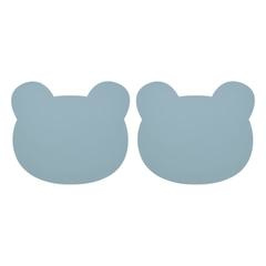 LIEWOOD | GADA | PLACEMAT 2 PACK | BEAR SEA BLUE