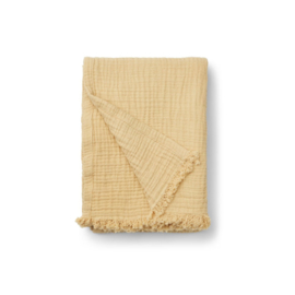 Liewood | Magda Muslin Blanket | Wheat Yellow