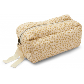 Konges Slojd | Small Quilted Toilettry Bag | Buttercup Yellow
