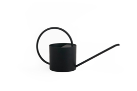 XLBOOM | O-COLLECTION | WATERING CAN | BLACK