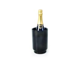 XLBOOM | RONDO WINE COOLER | STAINLESS STEEL | BLACK